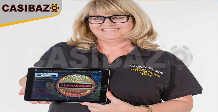 برد زن خوششانس در کازینو آنلاین