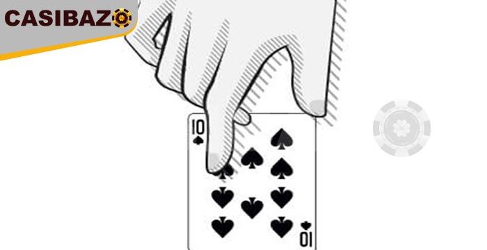 کارت ده در بازی بلک جک