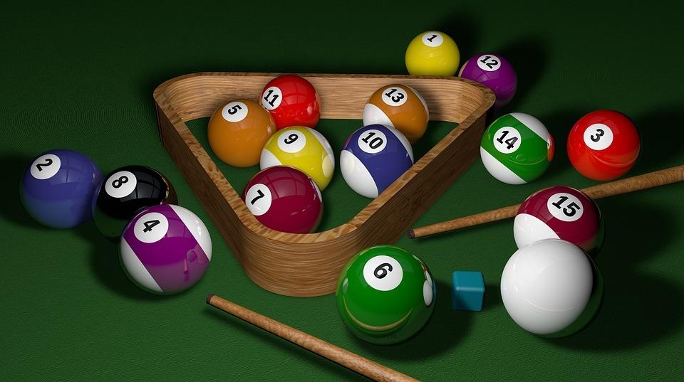 توپهای بازی بیلیارد