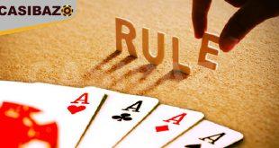 قوانین قمار آنلاین